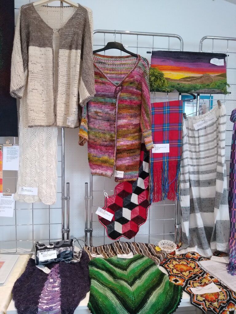 Items made by Sheila Cruikshank